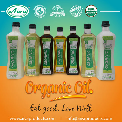 Organic Extra Virgin Coconut Oil, Organic Oil and Others, Aiva Products, Aiva Products