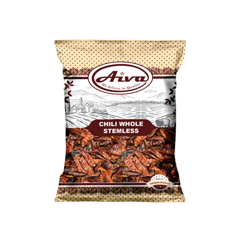 Chili Whole Stemless, Spices & Herbs, Aiva Products, Aiva Products