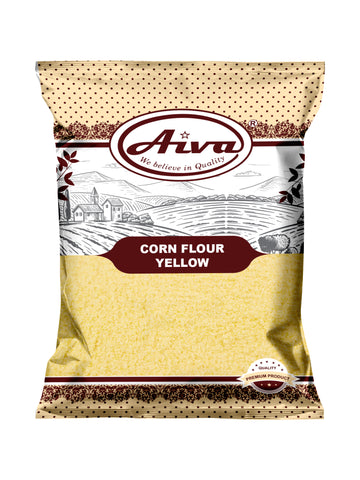 Corn Flour Yellow, Flours & Rice, Aiva Products, Aiva Products