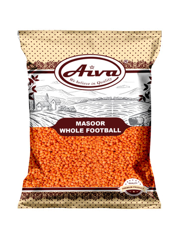 Masoor Whole Football, Pulses & Beans, Aiva Products, Aiva Products