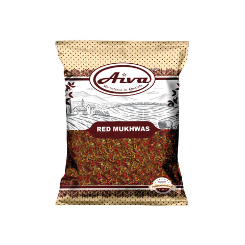 Red Mukhwas, Spices & Herbs, Aiva Products, Aiva Products