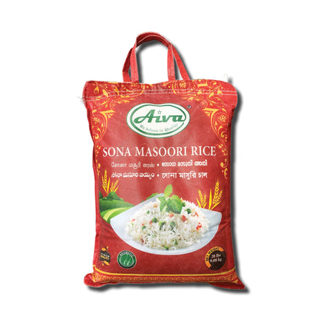 Sona Masoori Rice, Flours & Rice, Aiva Products, Aiva Products