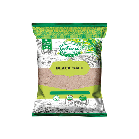 Natural Black Salt Powder Pure, Organic Spices & Herbs, Aiva Products, Aiva Products