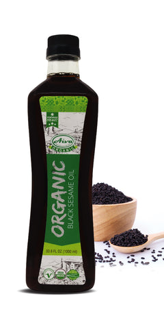 Organic Black Sesame Oil, Organic Oil and Others, Aiva Products, Aiva Products