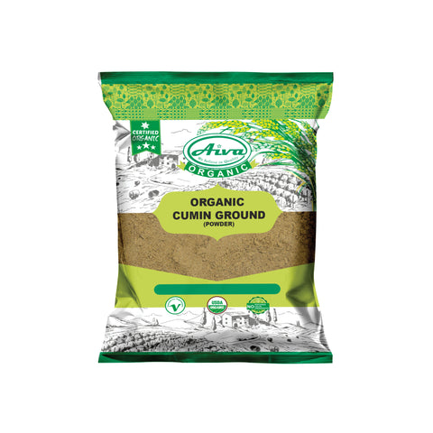 Organic Cumin Ground Powder (Jeera Powder), Organic Spices & Herbs, Aiva Products, Aiva Products