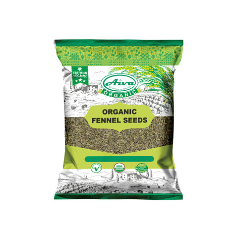 Organic Fennel Seeds, Organic Spices & Herbs, Aiva Products, Aiva Products