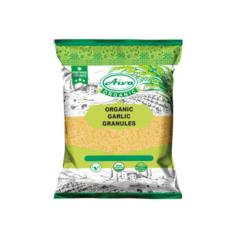 Organic Garlic Granules, Organic Spices & Herbs, Aiva Products, Aiva Products