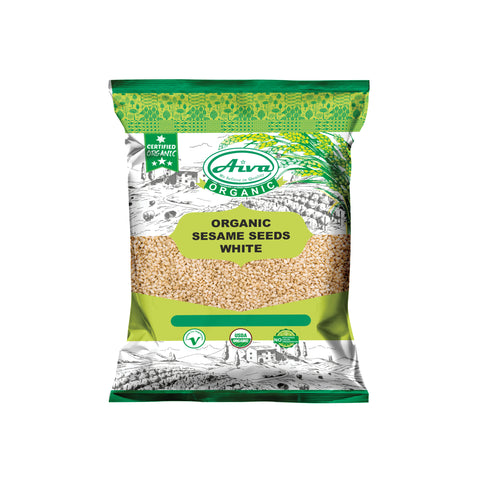 Organic Sesame Seeds White, Organic Spices & Herbs, Aiva Products, Aiva Products