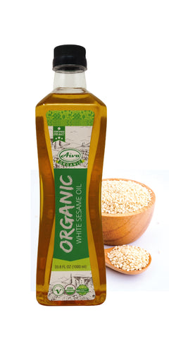 Organic White Sesame Oil, Organic Oil and Others, Aiva Products, Aiva Products