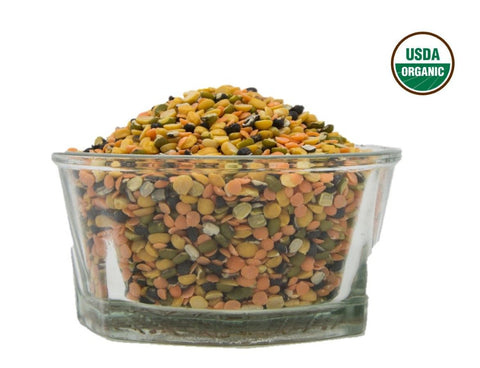 Organic Mix Dal - Usda Certified, Organic Pulses & Beans, Aiva Products, Aiva Products