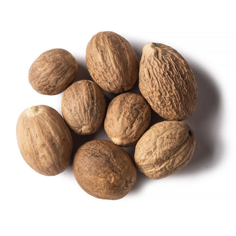 Organic Nutmeg Whole (Jaifal), Organic Spices & Herbs, Aiva Products, Aiva Products