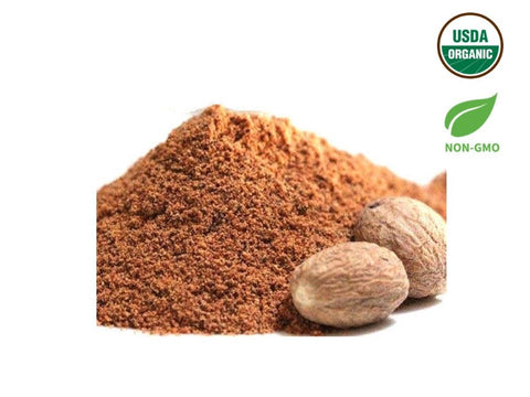 Organic Nutmeg Powder, Organic Spices & Herbs, Aiva Products, Aiva Products