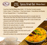 Urad Dal (Matpe Bean Split), Pulses & Beans, Aiva Products, Aiva Products