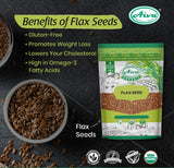 Organic Flax Seeds, Organic Spices & Herbs, Aiva Products, Aiva Products