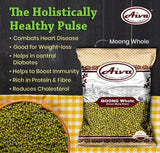 Moong Whole (Green Mung Bean), Pulses & Beans, Aiva Products, Aiva Products
