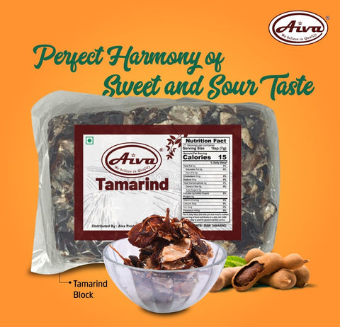 Tamarind Block, Spices & Herbs, Aiva Products, Aiva Products