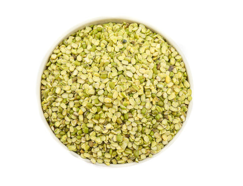 Moong Split With Husk (Green Mung Bean Split), Pulses & Beans, Aiva Products, Aiva Products