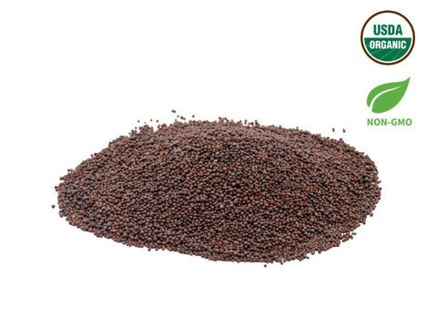 Organic Brown Mustrad (Rai), Organic Spices & Herbs, Aiva Products, Aiva Products
