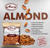 Almonds Raw, Nuts & Seeds, Aiva Products, Aiva Products