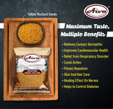 Yellow Mustard Seeds, Spices & Herbs, Aiva Products, Aiva Products