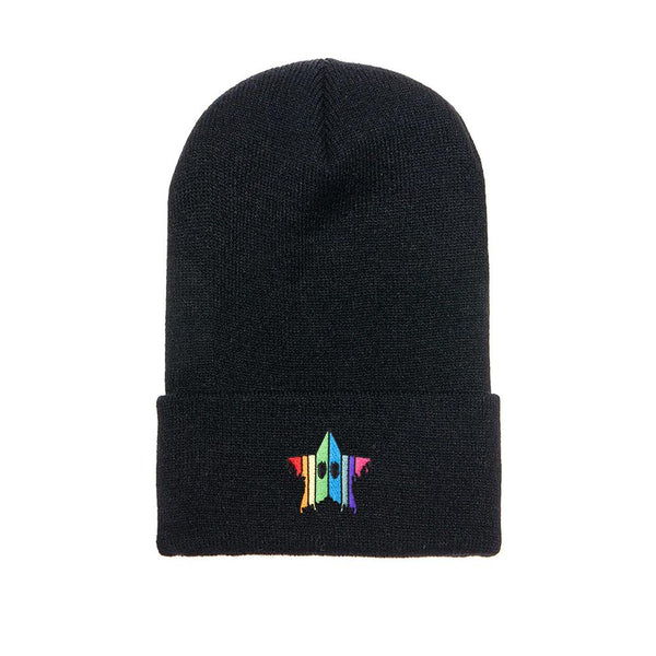 Drippy Star - Embroidered Beanie