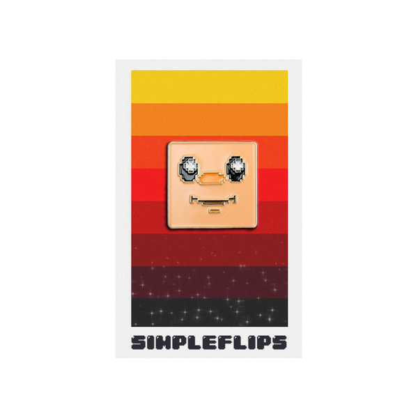 SimpleFlips Bupface 1.0 Pin