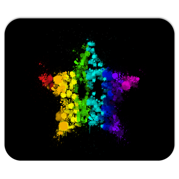 Graffiti Star Mousepad