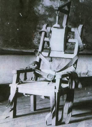 1890s electric chair