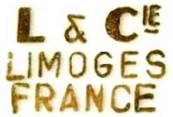 L and Cie Limoges Lafarge mark