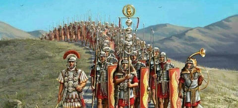 Roman Army Marching