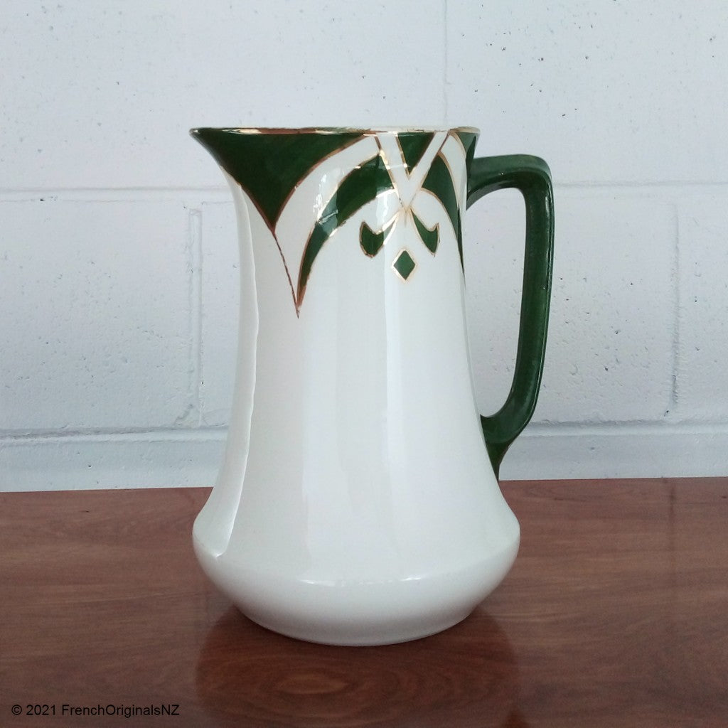 Antique Art Deco Jug French NZ