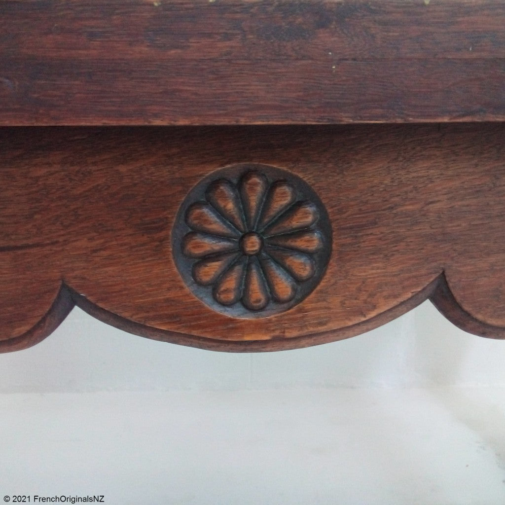 Carving French Antique Table NZ