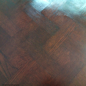Dark Patina of Age French Oak Antique Table NZ