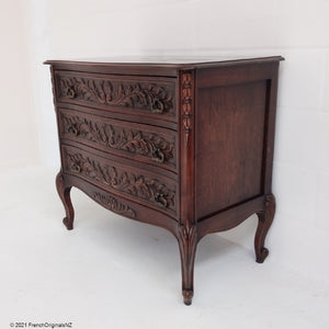 French Antique Louis XV Style Chest Of Drawers NZ