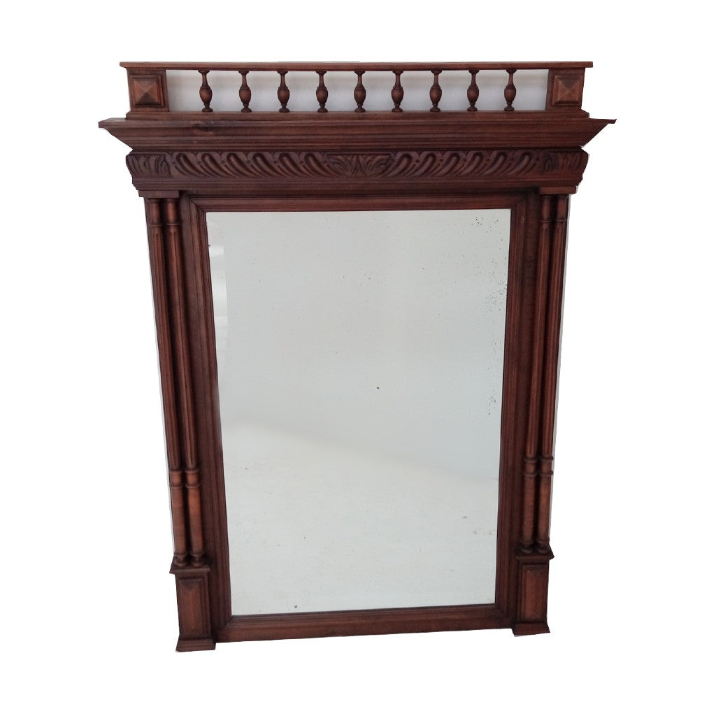 French Antique Mantle Mirror NZ