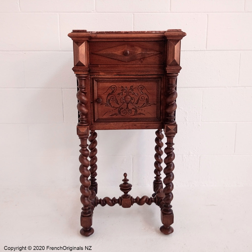 French Antique Bedside Table NZ