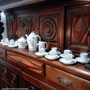 French Complete Cafe Set Porcelain NZ