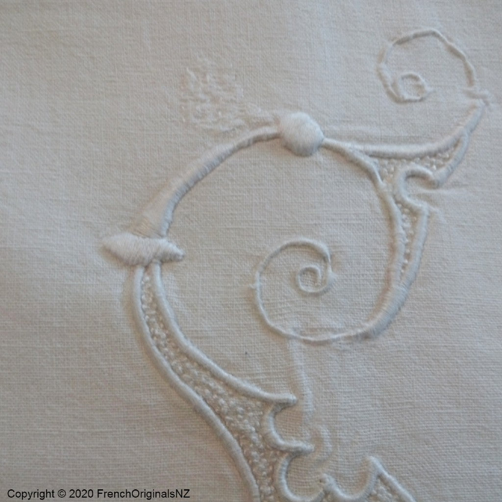 French Embroidered Bedlinen NZ