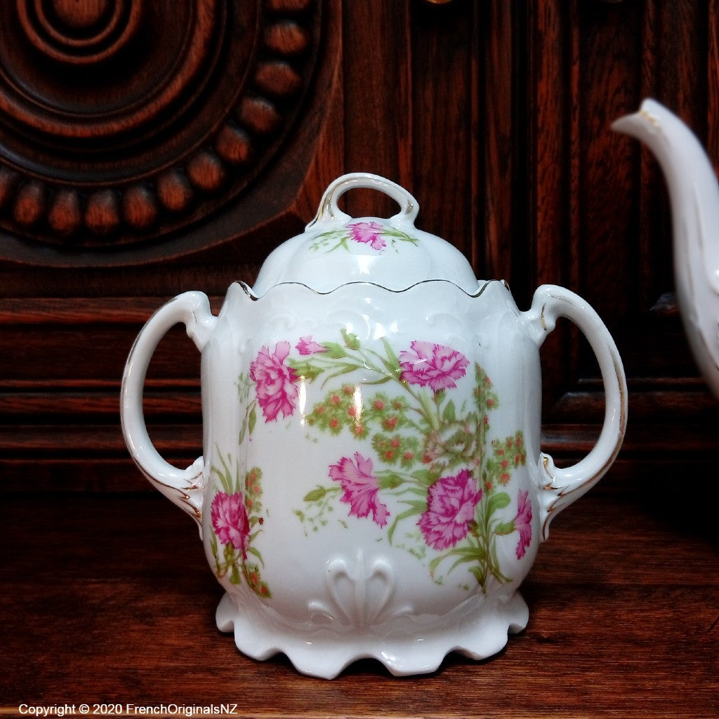 French Porcelain Carnation Design NZ