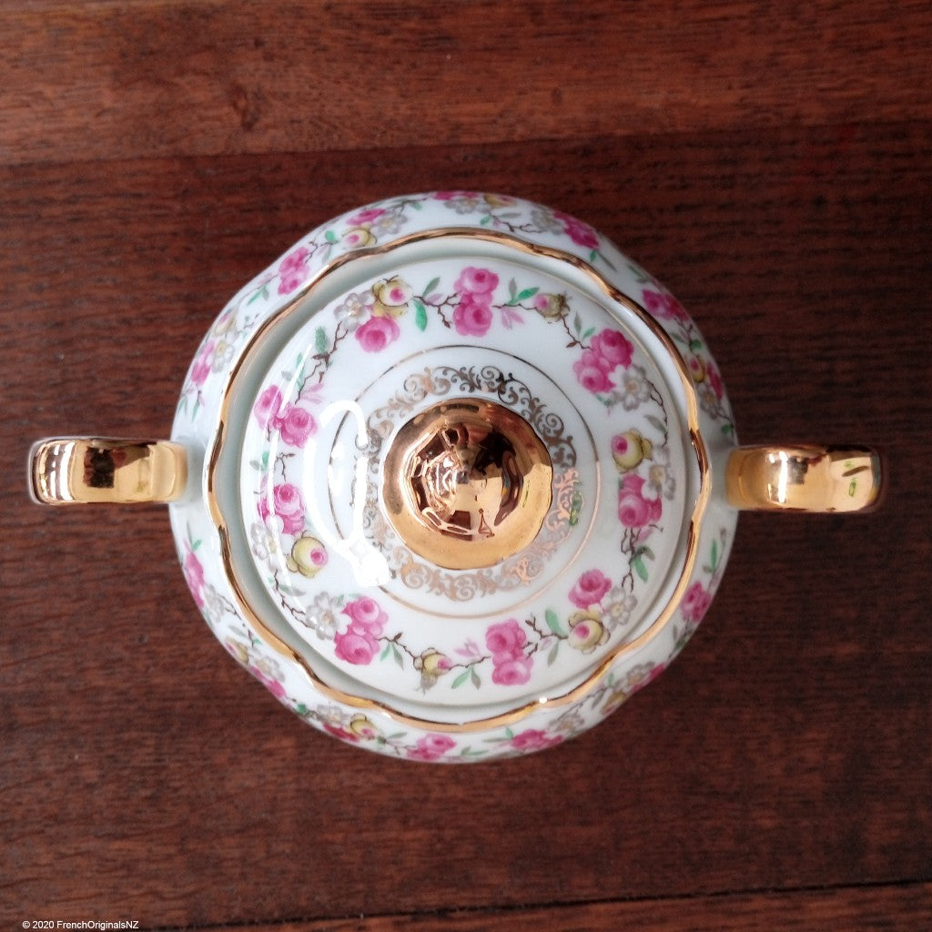French Porcelain Chinoiserie pattern NZ