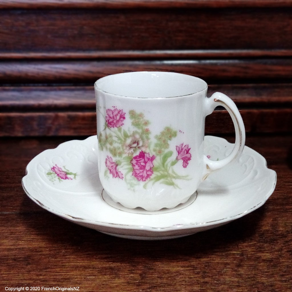 French Porcelain Demitasse Cup NZ
