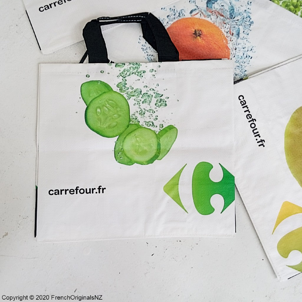 French Bag Cucumber design