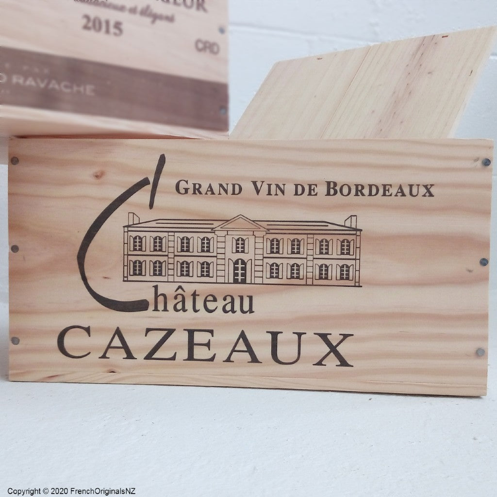 French Wine Crate NZ