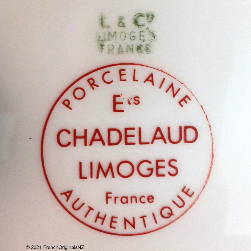 L and Cie and Chadelaud Limoges Mark NZ