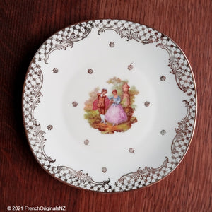Limoges Fragonard Design Porcelain Plate NZ