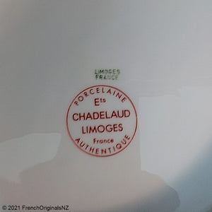 Limoges France Chadelaud Porcelain Mark NZ