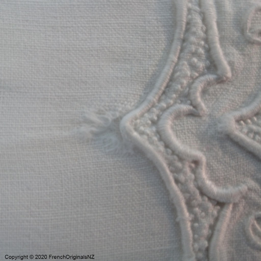 Old French Linen Sheet NZ