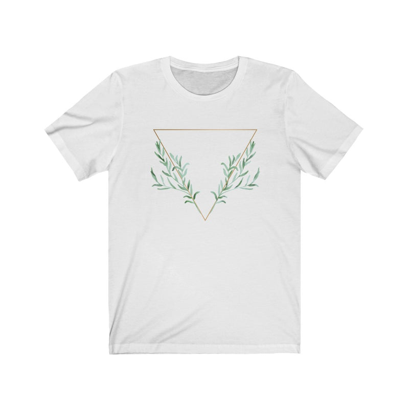 Inverted Geo Plant Band Tee