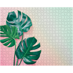 Monstera Gradient Puzzle