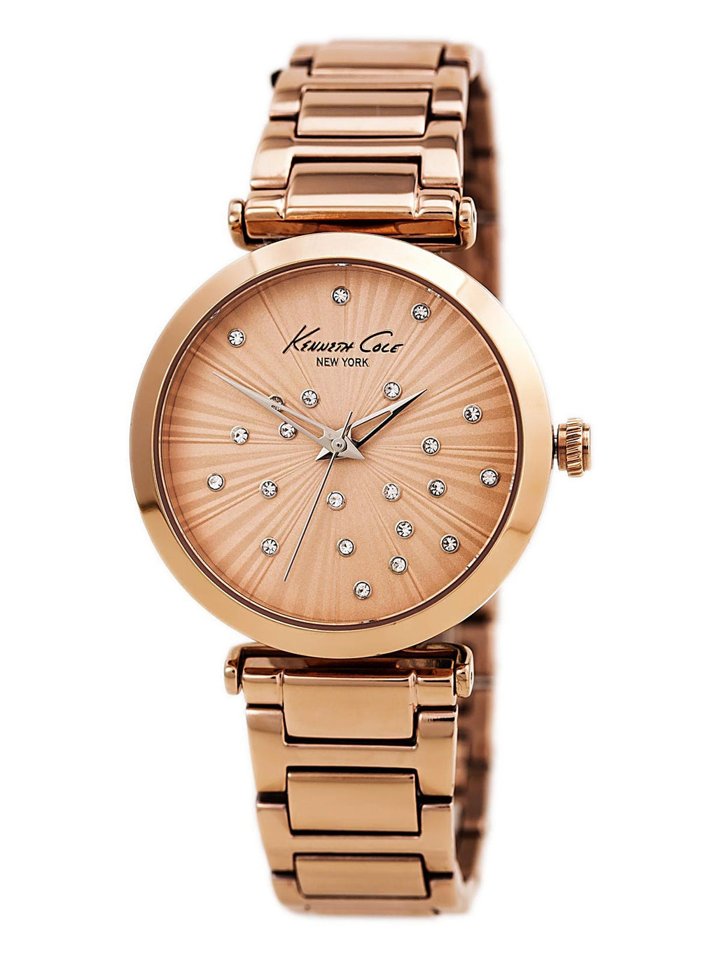 Kenneth Cole – for Women, Stainless Steel Bracelet Color Rose Gold Watch